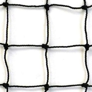 JFN #18 Twisted Knotted Nylon Baseball Backstop Net