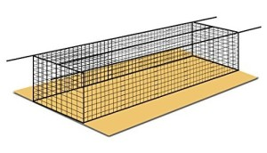 Baseball Batting Cages ALL SIZES Heavy Duty Net