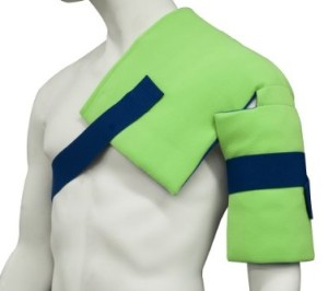 Polar Ice Shoulder and Hip Wrap, Cold Therapy Ice Pack