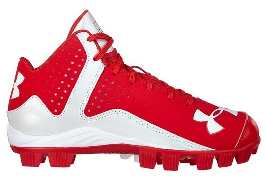 Under Armour Kids UA Leadoff Mid Rm Jr. Baseball Cleat