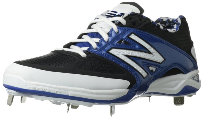 cf782b13a653d New Balance Men's L4040 Metal Low Baseball Shoe These new balance baseball  cleats materials are synthetic.