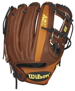 Wilson A2K Game Model Dustin Pedroia Infield Baseball Glove